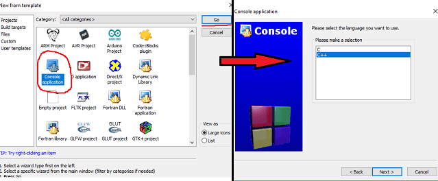 console application
